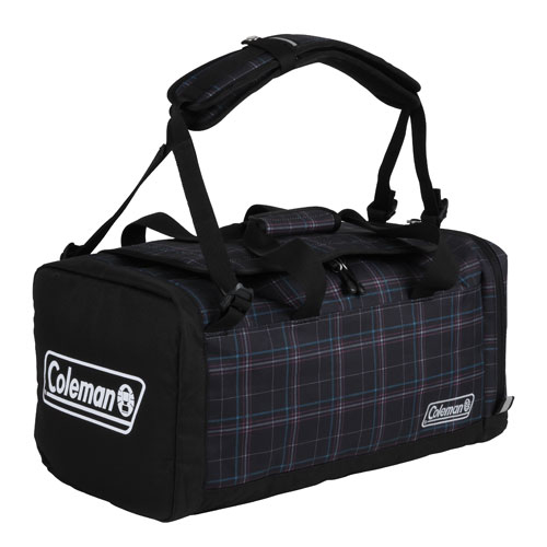 Coleman(コールマン) 3ウェイボストンSM(ブラックチェック) 2000027144ショルダーバッグ バッグ アウトドア トラベル・ビジネスバッグ トラベルパック アウトドアギア