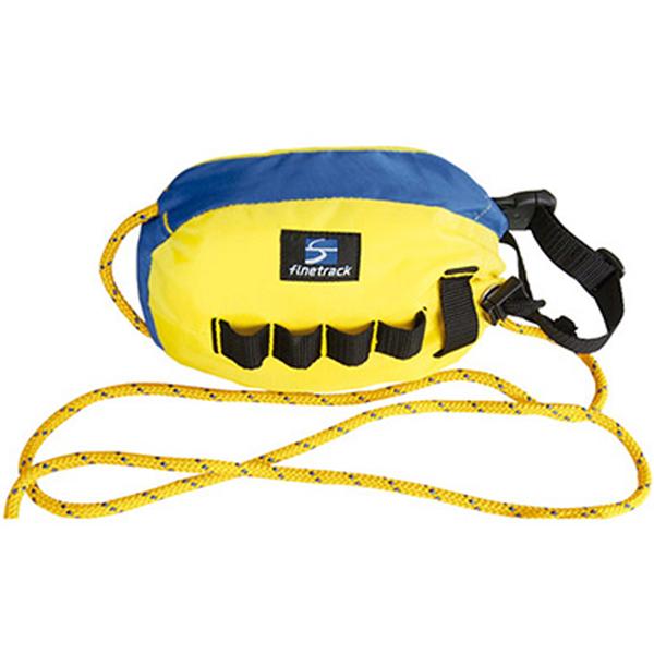 ★エントリーでポイント5倍!finetrack(ファイントラック) ゴージュバッグ 25 YL/BL FWG0107トレッキング 登山 アウトドア ロープ シングルロープ アウトドアギア