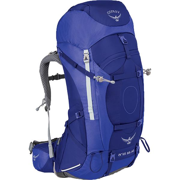 ★エントリーでポイント10倍!OSPREY(オスプレー) エーリエルAG 65/タイダルブルー/S OS50066女性用 ブルー リュック バックパック バッグ トレッキングパック トレッキング70 アウトドアギア