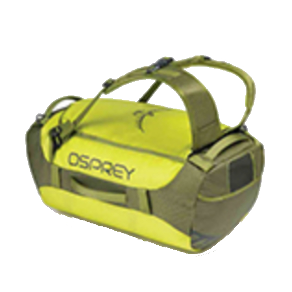OSPREY(オスプレー) トランスポーター 40/サブライム/ワンサイズ OS55184イエロー ダッフルバッグ ボストンバッグ トラベル・ビジネスバッグ ダッフル アウトドアギア