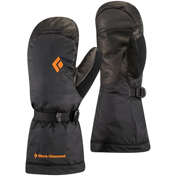 Black Diamond(ブラックダイヤモンド) アブソルートミット/ブラック/L BD73151男女兼用 ブラック ウインタータイプ(冬用) 手袋 メンズウェア ウェア ウェアアクセサリー 冬用グローブ アウトドアウェア