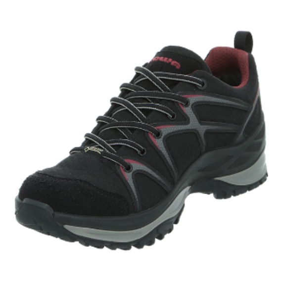 LOWA(ローバー) イノックス GT LO Ws B3H L320606-9952-3H女性用 ブラック ブーツ 靴 トレッキング トレッキングシューズ ハイキング用 アウトドアギア