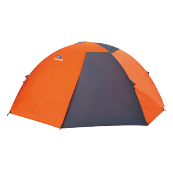 finetrack(ファイントラック) カミナドーム2/OG/GY FAG0312アウトドアギア 登山2 登山用テント タープ 二人用(2人用) オレンジ おうちキャンプ ベランピング