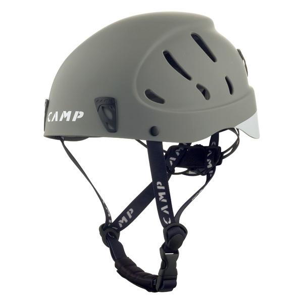 3980円以上送料無料 おうちキャンプ ベランピング CAMP カンプ ARMOUR_L Grey 期間限定特価品 登山 ヘルメット 5259533アウトドアギア L グレー 大放出セール トレッキング