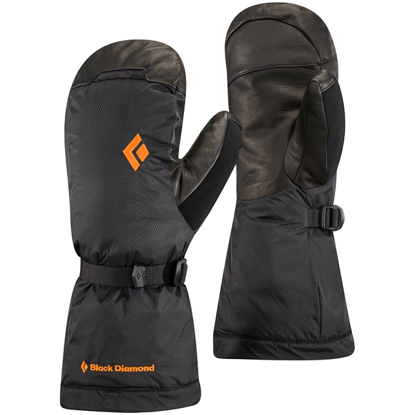 Black Diamond(ブラックダイヤモンド) アブソルートミット/ブラック/XL BD73151男女兼用 ブラック ウインタータイプ(冬用) 手袋 メンズウェア ウェア ウェアアクセサリー 冬用グローブ アウトドアウェア