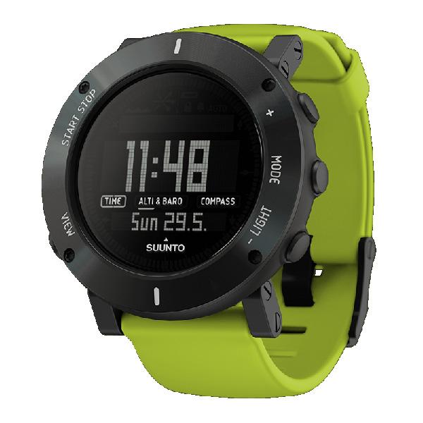 SUUNTO(スント) [正規品・2年保証]CORE CRUSH LIME(コア ライムクラッシュ) SS020693000アウトドアギア 高機能ウォッチ 時計