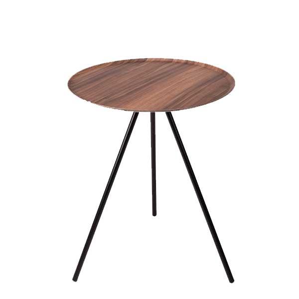 Helinox Home(ヘリノックス ホーム) HelinoxHOME テーブル オー ウォールナット 19750024アウトドアギア オーバル・ラウンドテーブル レジャーシート