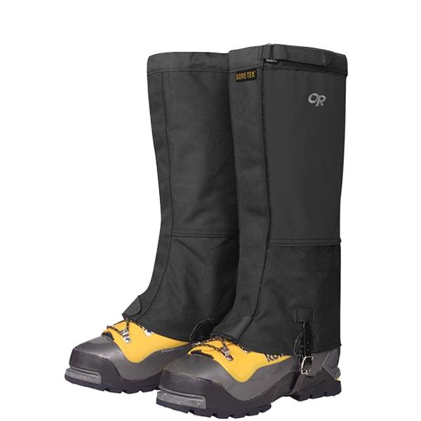 Outdoor Research(アウトドアリサーチ) OR Mens Expedition Crocodile Gaiters/black/L 19496154ブラック ブーツ 靴 トレッキング ウェアアクセサリー 冬用ゲーター(スパッツ) アウトドアウェア