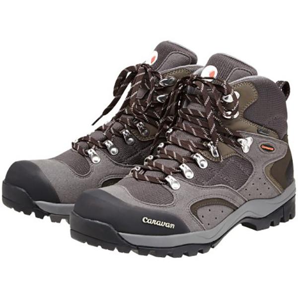 Caravan(キャラバン) 1_02S/100グレー/25.0cm 0010106男女兼用 グレー ブーツ 靴 トレッキング トレッキングシューズ トレッキング用 アウトドアギア