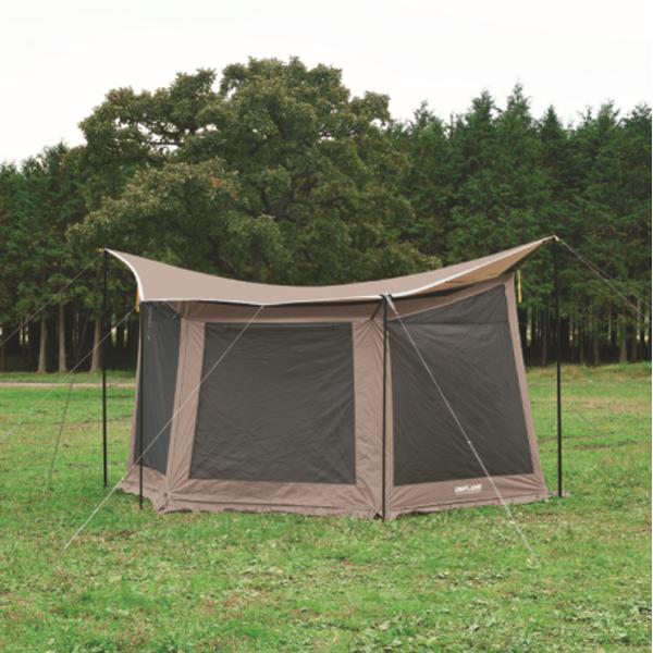 UNIFLAME(ユニフレーム) REVOメッシュウォール2(M)TAN 681893アウトドアギア メッシュテント テント タープ ブラウン