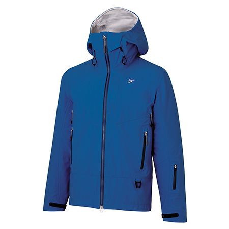 finetrack(ファイントラック) エバーブレスグライドジャケット Ms FN FAM1001男性用 ブルー アウター メンズウェア ウェア ジャケット 中綿入り ジャケット 中綿入り男性用 アウトドアウェア