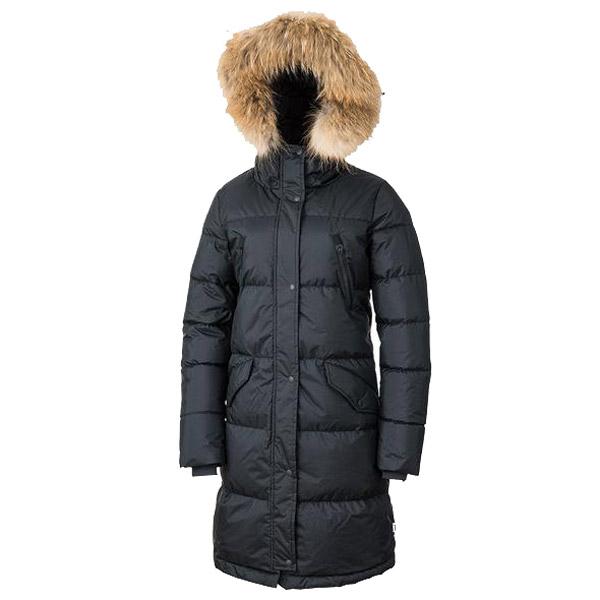 NANGA(ナンガ) レディスダウンハーフコート/BLK/2 LDHC-7女性用 ブラック アウター レディースウェア ウェア ダウンジャケット ダウンジャケット女性用 アウトドアウェア
