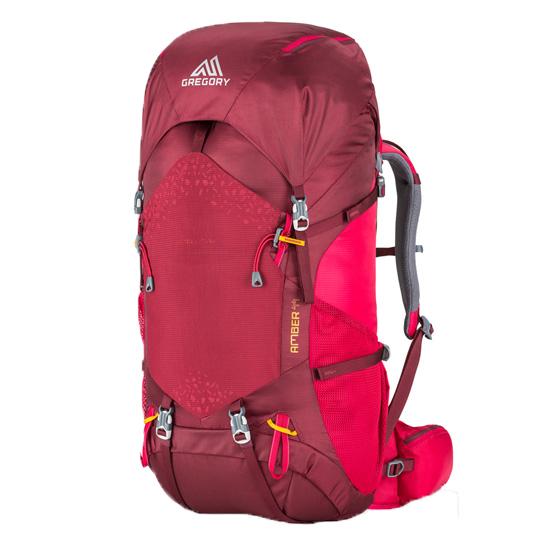 GREGORY(グレゴリー) アンバー44/チリペッパーレッド 77833女性用 レッド リュック バックパック バッグ トレッキングパック トレッキング40 アウトドアギア