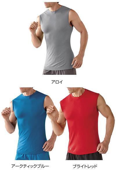 SmartWool(スマートウール) Ms PhDRunスリーブレストップ/アロイ/S SW64027アウトドアウェア 半袖Tシャツ男性用 半袖Tシャツ トップス カットソー