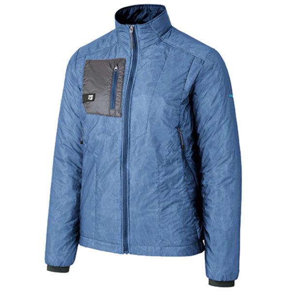 finetrack(ファイントラック) WOMENSポリゴン2ULジャケット/CO/M FIW0301アウトドアウェア ジャケット 中綿入り女性用 ジャケット 中綿入り メンズウェア アウター ブルー