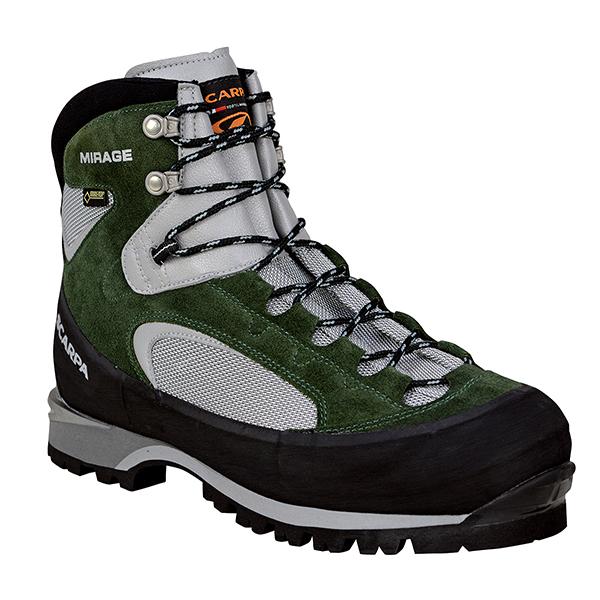 SCARPA(スカルパ) ミラージュ GTX/パイン/#43 SC23090アウトドアギア トレッキング用 トレッキングシューズ トレッキング 靴 ブーツ グレー 男性用 おうちキャンプ