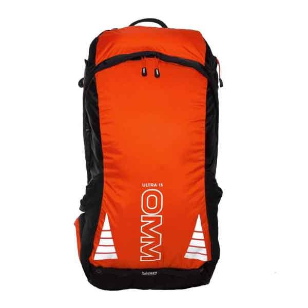 OMM Ultra 15 /オレンジXブラック OF014_1バッグ アウトドア トレッキングパック トレッキング小型 アウトドアギア