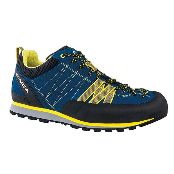 SCARPA(スカルパ) クラックス/ハイパーブルー/イエロー/#44 SC21030ブーツ 靴 トレッキング トレッキングシューズ ハイキング用 アウトドアギア