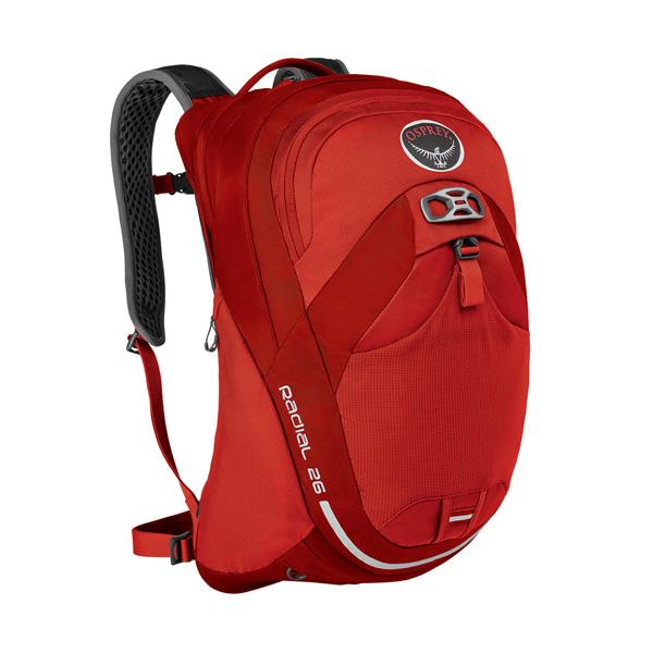 OSPREY(オスプレー) ラディアル 26/ラーバレッド/M/L OS56042001006アウトドアギア 自転車用バッグ バッグ バックパック リュック レッド 男性用