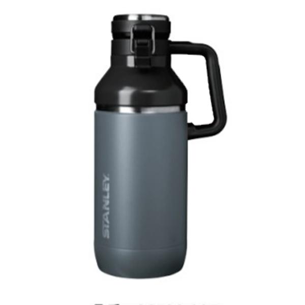 STANLEY(スタンレー) ゴーシリーズ セラミバック 真空グロウラー1.9Lチャコールグレー 06598-007アウトドアギア ステンレスボトル 水筒 マグボトル グレー