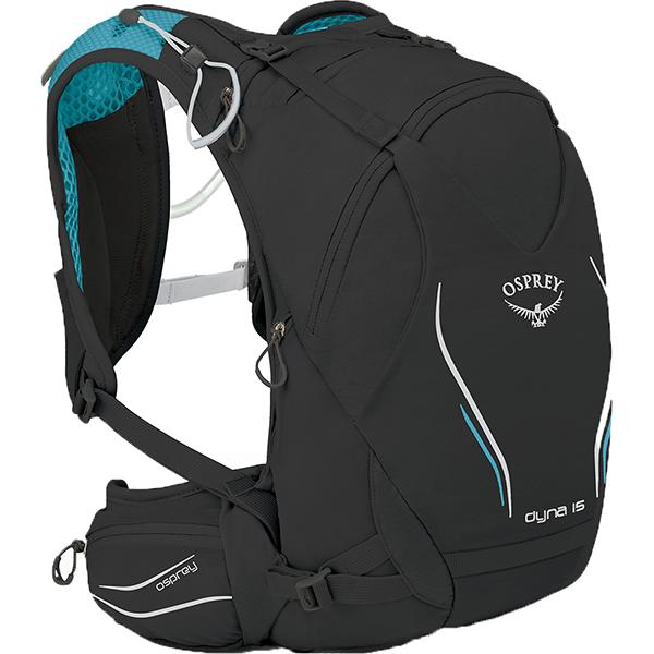 OSPREY(オスプレー) ダイナ 15/ブラックオパール/S/M OS56015女性用 ブラック スポーツバッグ アクセサリー スポーツウェア トレラン用パック トレラン用パック アウトドアギア