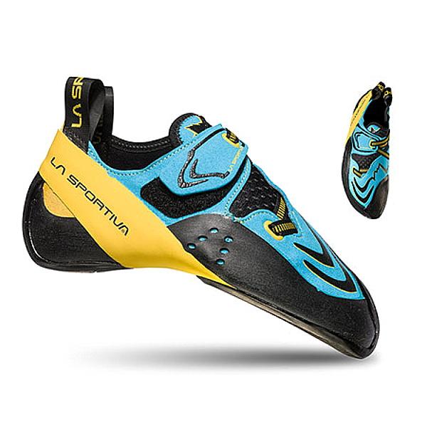 LA SPORTIVA(ラ・スポルティバ) Futura(フューチュラ)/ブルーxイエロー/39 20R600100ブルー ブーツ 靴 トレッキング トレッキングシューズ クライミング用 アウトドアギア