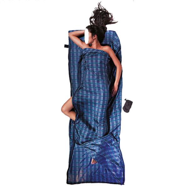 COCOON(コクーン) コクーンST50-CカップラーシルクC.シルク 12550019ブルー 絹(シルク) インナーシーツ アウトドア用寝具 アウトドア スリーピングバッグインナー スリーピングバッグインナー アウトドアギア