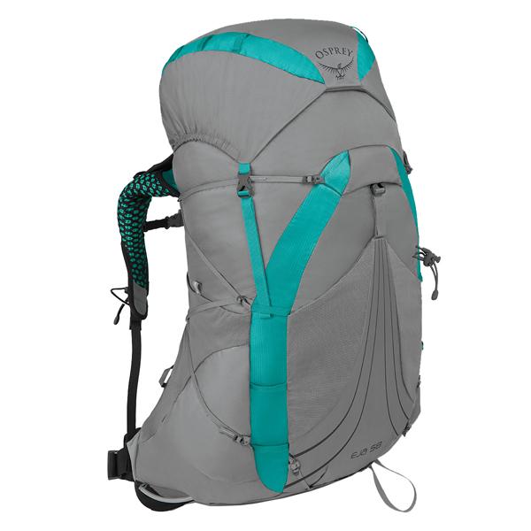 OSPREY(オスプレー) エイジャ 58/ムーングレードグレー/S OS50335001004アウトドアギア トレッキング50 トレッキングパック バッグ バックパック リュック グレー 女性用 おうちキャンプ
