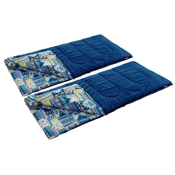 Coleman(コールマン) ファミリー2IN1/C5 2000027257シュラフ 寝袋 アウトドア用寝具 封筒型 封筒スリーシーズン アウトドアギア