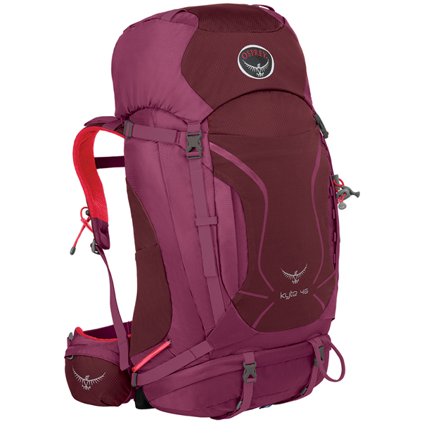 OSPREY(オスプレー) カイト 46/パープルカラー/XS/S OS50155女性用 パープル リュック バックパック バッグ トレッキングパック トレッキング50 アウトドアギア