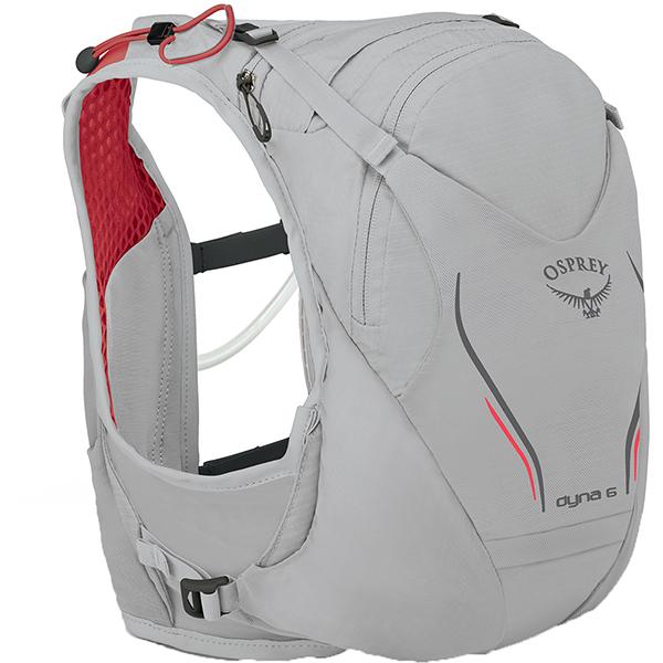 OSPREY(オスプレー) ダイナ 6/シルバースパーク/S/M OS56016アウトドアギア トレラン用パック スポーツウェア アクセサリー スポーツバッグ シルバー 女性用 おうちキャンプ