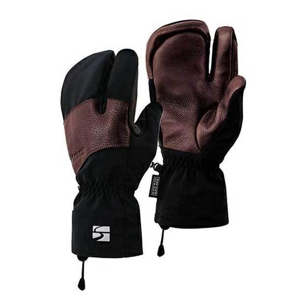 finetrack(ファイントラック) エバーブレススリーフィンガーグローブ/BK/S FAU0403男女兼用 ブラック 手袋 メンズウェア ウェア ウェアアクセサリー 冬用グローブ アウトドアウェア