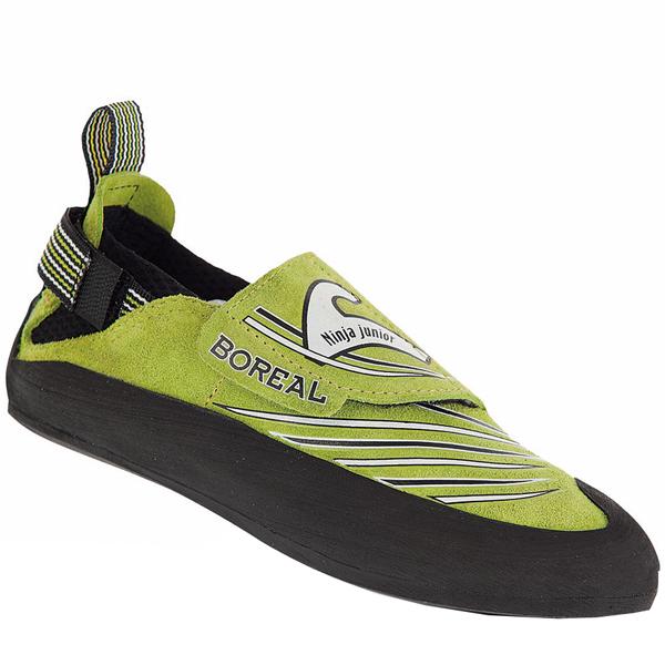 BOREAL(ボリエール) ニンジャ ジュニア/グリーン/#29-30 BO20121003029アウトドアギア クライミング用 トレッキングシューズ トレッキング 靴 ブーツ グリーン 子供用