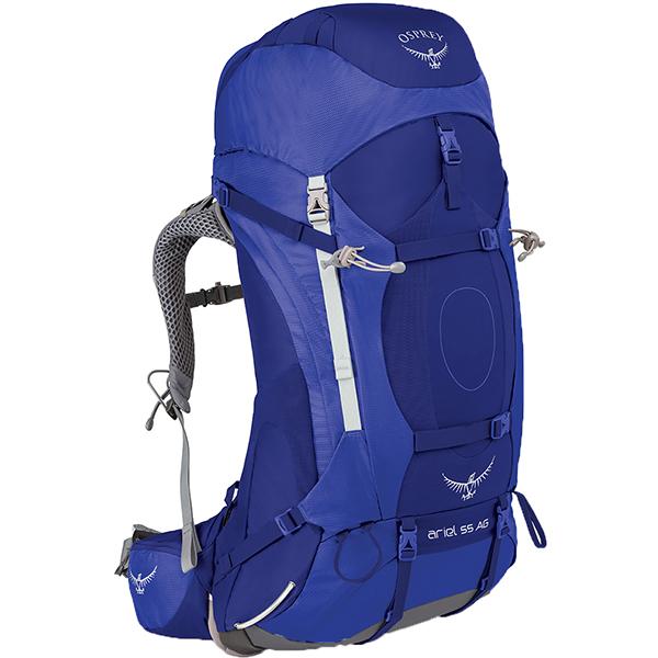 OSPREY(オスプレー) エーリエルAG 55/タイダルブルー/S OS50067女性用 ブルー リュック バックパック バッグ トレッキングパック トレッキング60 アウトドアギア