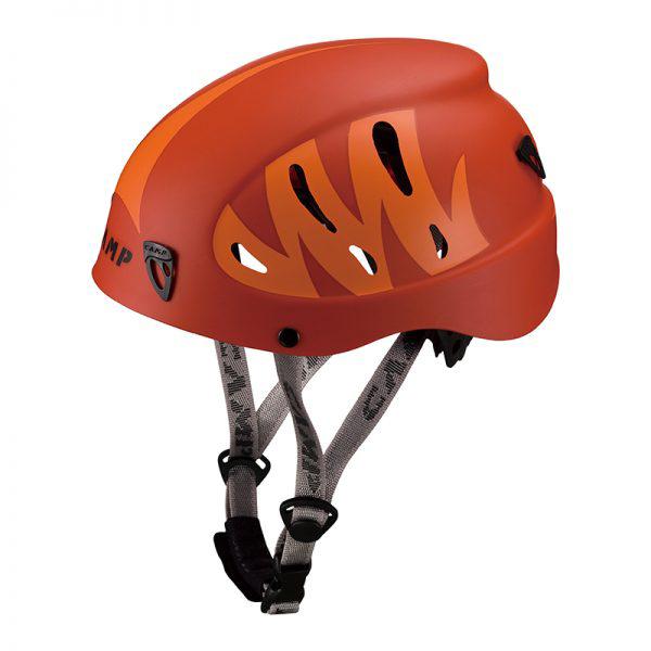 ★エントリーでポイント5倍!CAMP(カンプ) アーマー(レッドxオレンジ)/52-62 cm Red/Orange 5019011ヘルメット トレッキング 登山 アウトドアギア