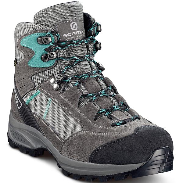 SCARPA(スカルパ) カイラッシュ LITE GTX WMN/スモーク/ラグーン/#37 SC22022女性用 グレー ブーツ 靴 トレッキング トレッキングシューズ トレッキング用女性用 アウトドアギア