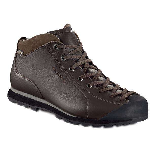 SCARPA(スカルパ) モヒートベーシック MID GTX/ダークブラウン/41 SC21053アウトドアギア トレッキング用 トレッキングシューズ トレッキング 靴 ブーツ ブラウン 男性用