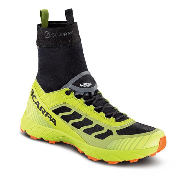 SCARPA(スカルパ) アトム EVO OD/ブラック/ライム/43 SC25026男女兼用 イエロー ブーツ 靴 トレッキング アウトドアスポーツシューズ トレイルランシューズ アウトドアギア