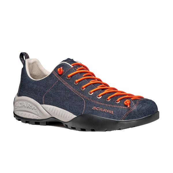 納期:2019年05月上旬SCARPA(スカルパ) モジトデニム/ブルーデニム/#37 SC21058ブルー ブーツ 靴 トレッキング トレッキングシューズ トレッキング用 アウトドアギア
