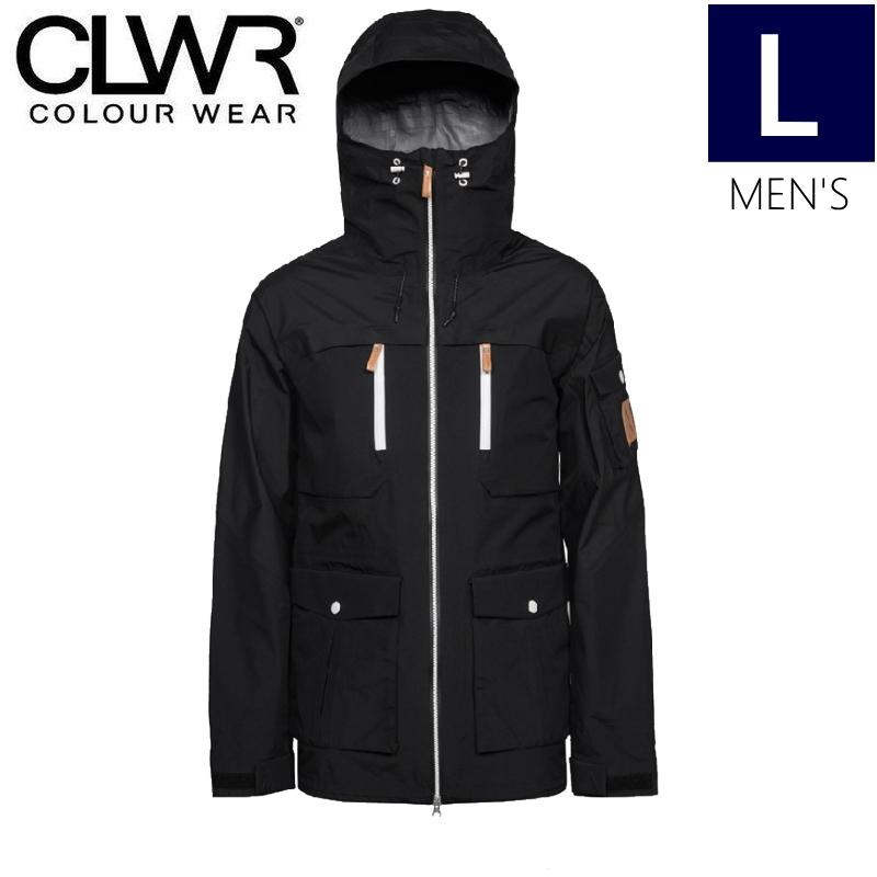 【ラス1】◎メンズ[Lサイズ]18 CLWR FALK JKT カラー:Black カラーウェア スキー スノーボードウェア フォークジャケット JACKET 型落ち 旧モデル 日本正規品 COLOUR WEAR
