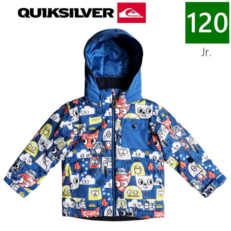 ★キッズ ジュニア[120サイズ]19 QUIKSILVER LITTLE MISSION JKT カラー:BQC1 クイックシルバー スノーボード キッズ ウェア 日本正規品