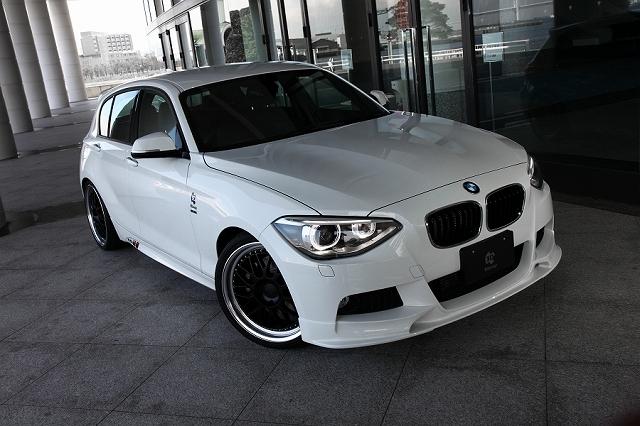 3D Design (3Dデザイン) BMW 1シリーズ F20 M-Sport フロントリップスポイラー
