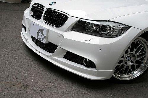 3D Design (3Dデザイン)BMW 3シリーズ E90/E91 M-Sport 後期/LCIフロントリップスポイラー