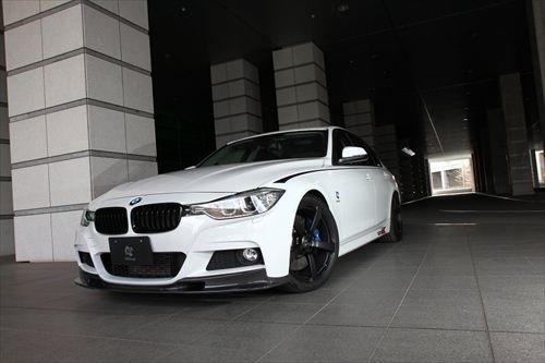 3D Design (3Dデザイン)BMW 3シリーズ F30/F31 M-SPORTフロントリップスポイラー(カーボン)