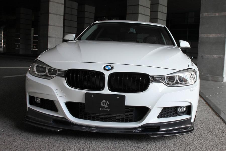 3D Design (3Dデザイン)BMW 3シリーズ F30/F31 M-Sport アンダーフリッパー