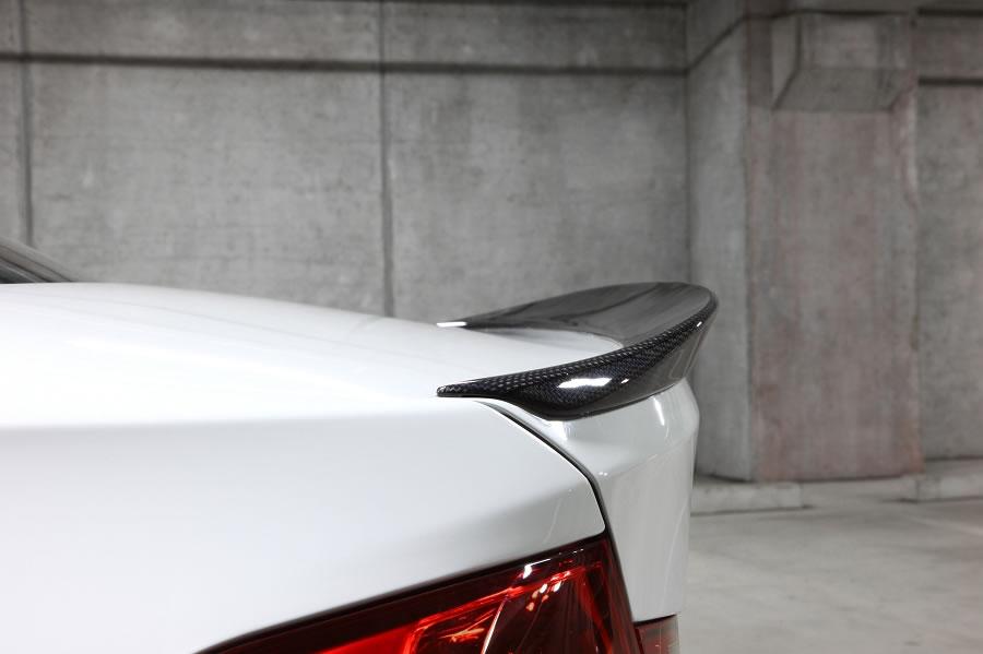 3D Design (3Dデザイン) BMW 3シリーズ F30 全車 トランクスポイラー(カーボン)