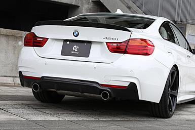 3D Design (3Dデザイン)BMW 4シリーズ F32 (420i)マフラー (デュアル/2テール)