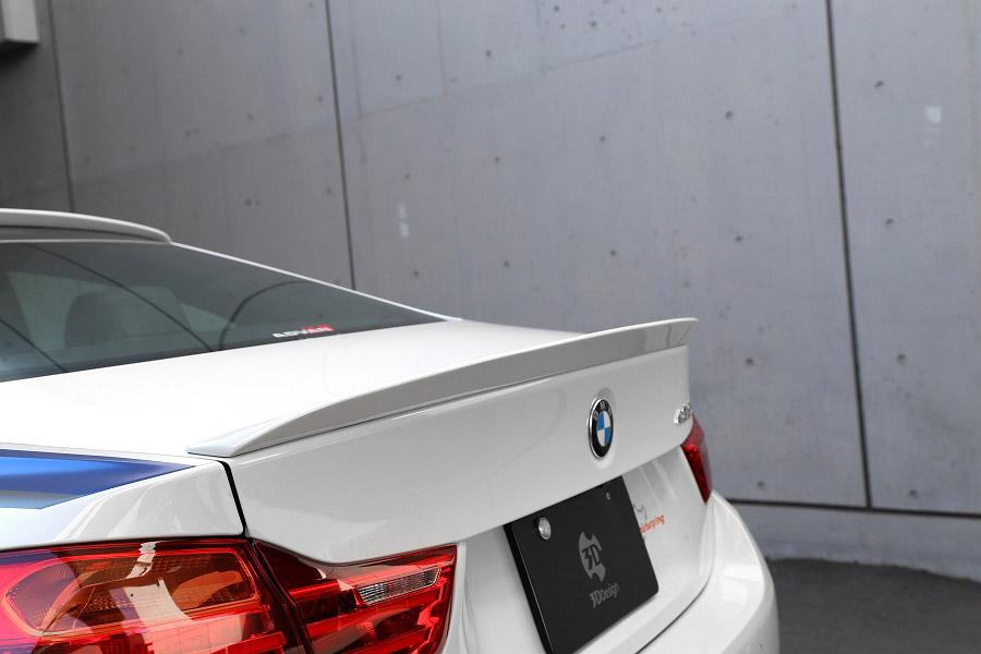 3D Design (3Dデザイン) BMW 4シリーズ F32トランクスポイラー
