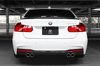 3D Design (3Dデザイン)BMW 4シリーズ F32 (435i) M-Sportマフラー (デュアル/4テール)