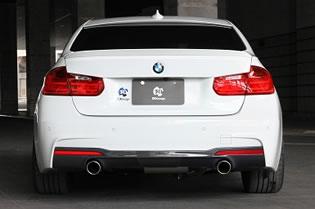 3D Design (3D 디자인) BMW 3 시리즈 F30/F31 (320d) M-Sport 머플러 (이중/2 꼬리)
